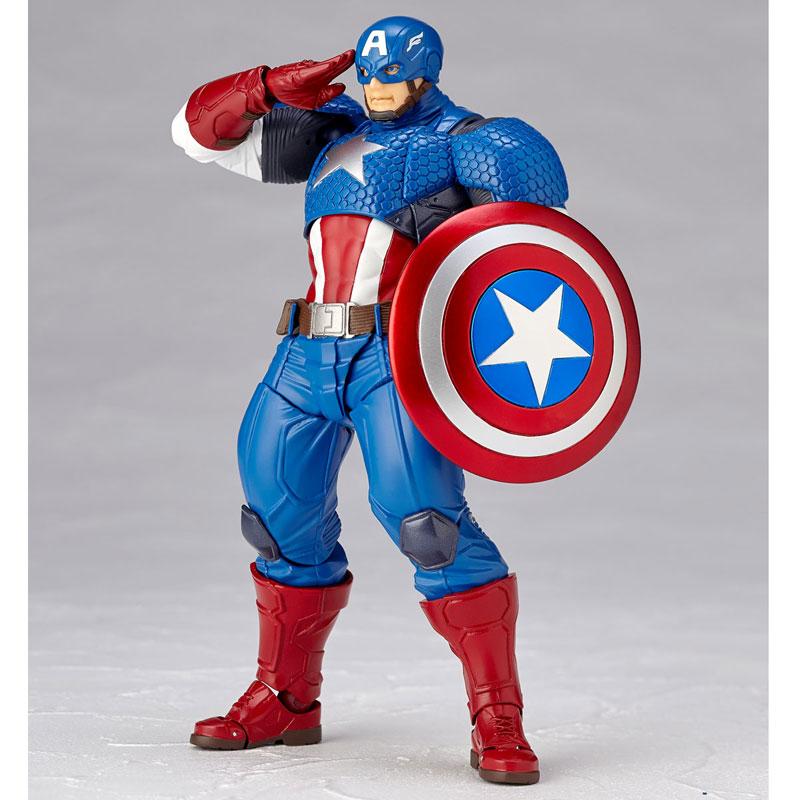 フィギュアコンプレックス アメイジング・ヤマグチ No.007 Captain America (キャプテン・アメリカ)-007