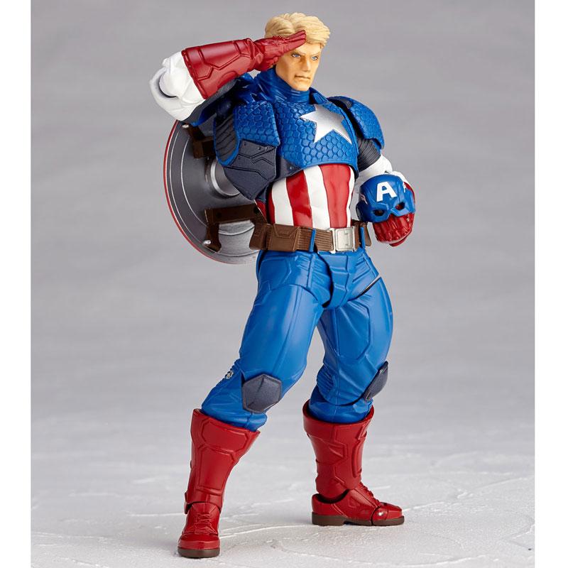 フィギュアコンプレックス アメイジング・ヤマグチ No.007 Captain America (キャプテン・アメリカ)-008