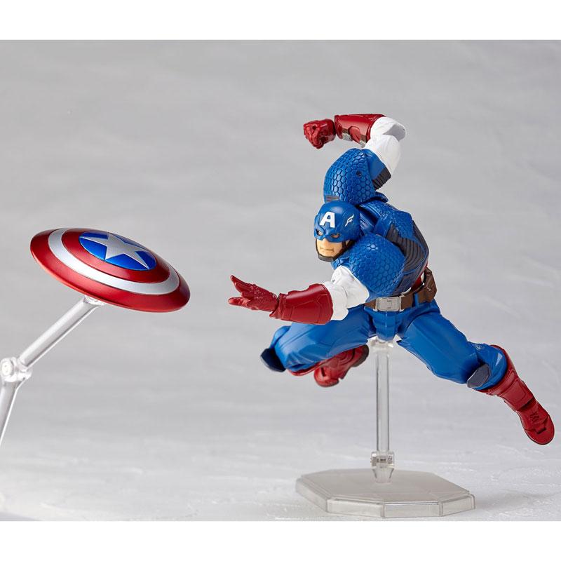 フィギュアコンプレックス アメイジング・ヤマグチ No.007 Captain America (キャプテン・アメリカ)-009