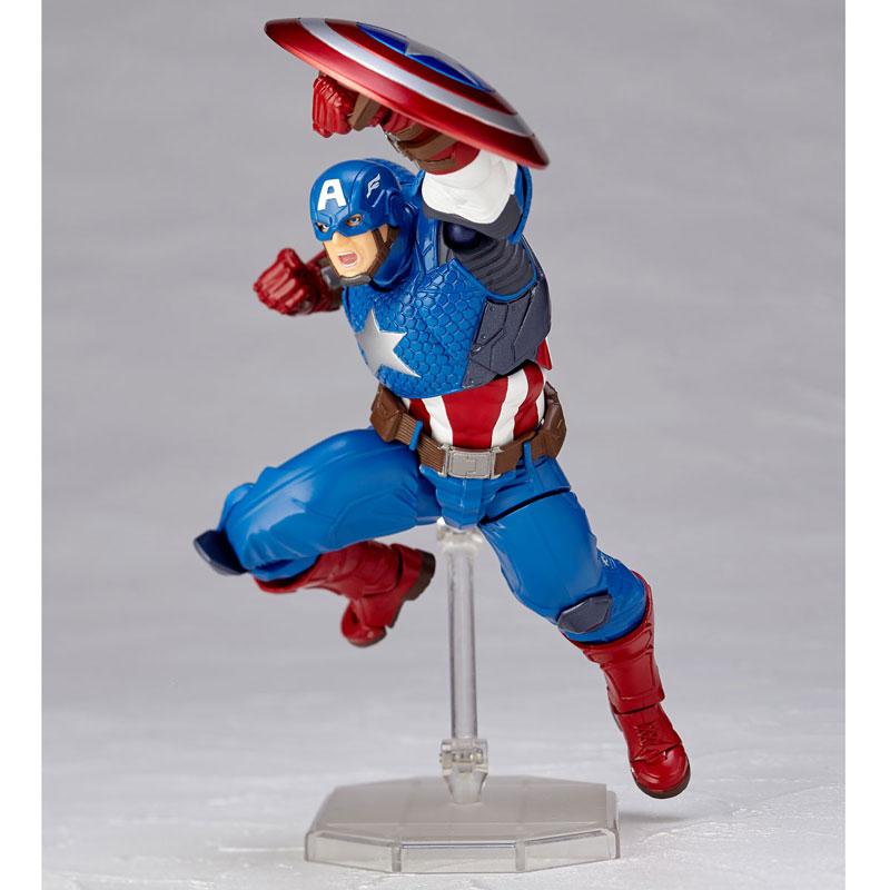 フィギュアコンプレックス アメイジング・ヤマグチ No.007 Captain America (キャプテン・アメリカ)-010