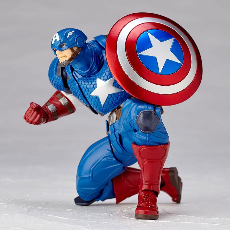 フィギュアコンプレックス アメイジング・ヤマグチ No.007 Captain America (キャプテン・アメリカ)-011