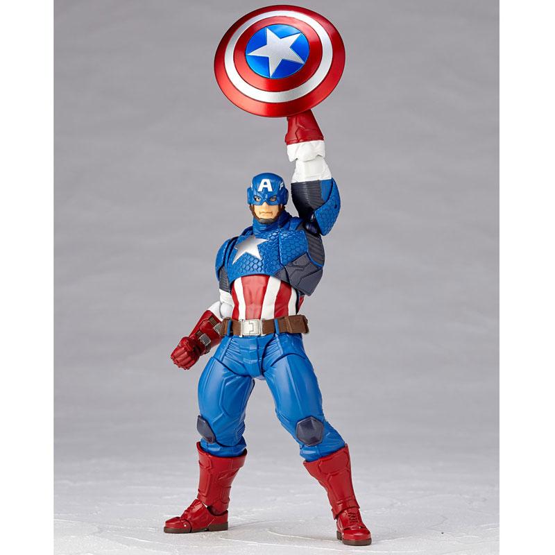 フィギュアコンプレックス アメイジング・ヤマグチ No.007 Captain America (キャプテン・アメリカ)-012