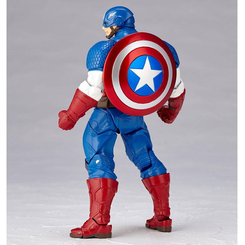 フィギュアコンプレックス アメイジング・ヤマグチ No.007 Captain America (キャプテン・アメリカ)-013