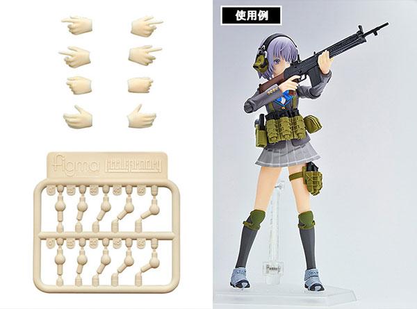 【再販】LittleArmory-OP04『figma専用 銃の持ち手』キット
