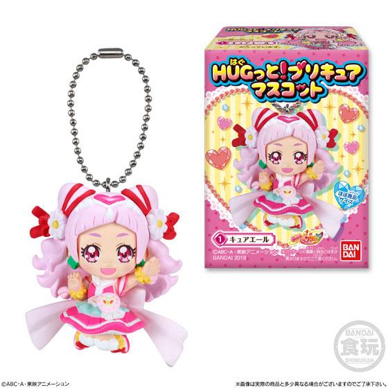 【食玩】HUGっと!プリキュア マスコット 10個入りBOX-001