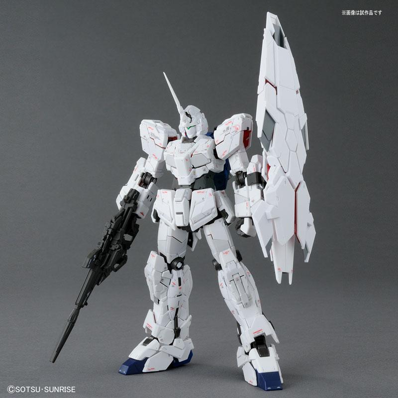 RG 1/144 ユニコーンガンダム (バンデシネVer.) プラモデル-004