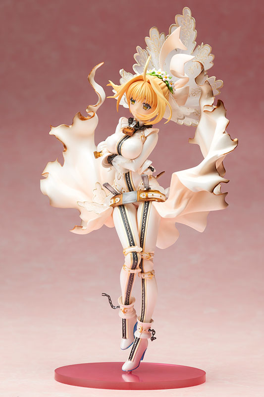 Fate/EXTRA CCC セイバー・ブライド 1/8 完成品フィギュア-004