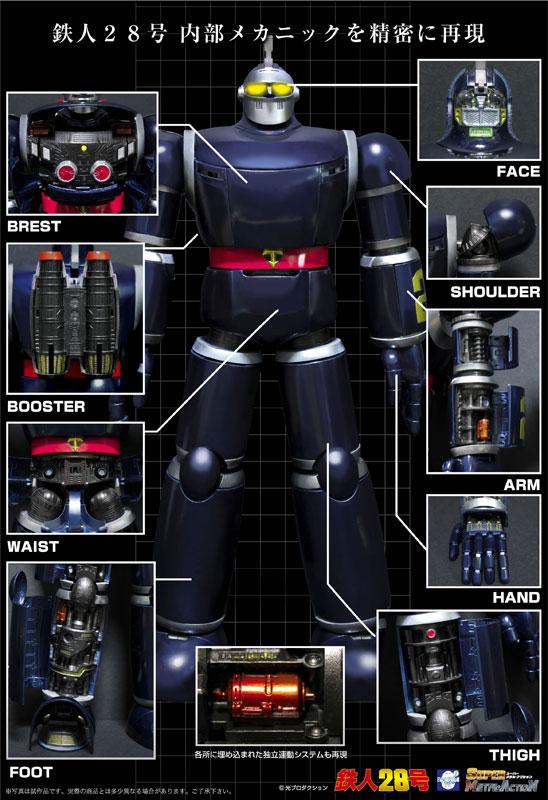 スーパー メタル・アクション 太陽の使者 鉄人28号-004