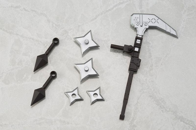 キューポッシュ フレームアームズ・ガール FAガール 迅雷 PVC製 塗装済み可動フィギュア-010