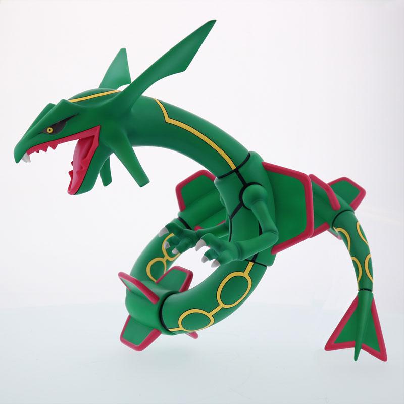 ギガンティックシリーズ NEO ポケットモンスター レックウザ 完成品フィギュア-003