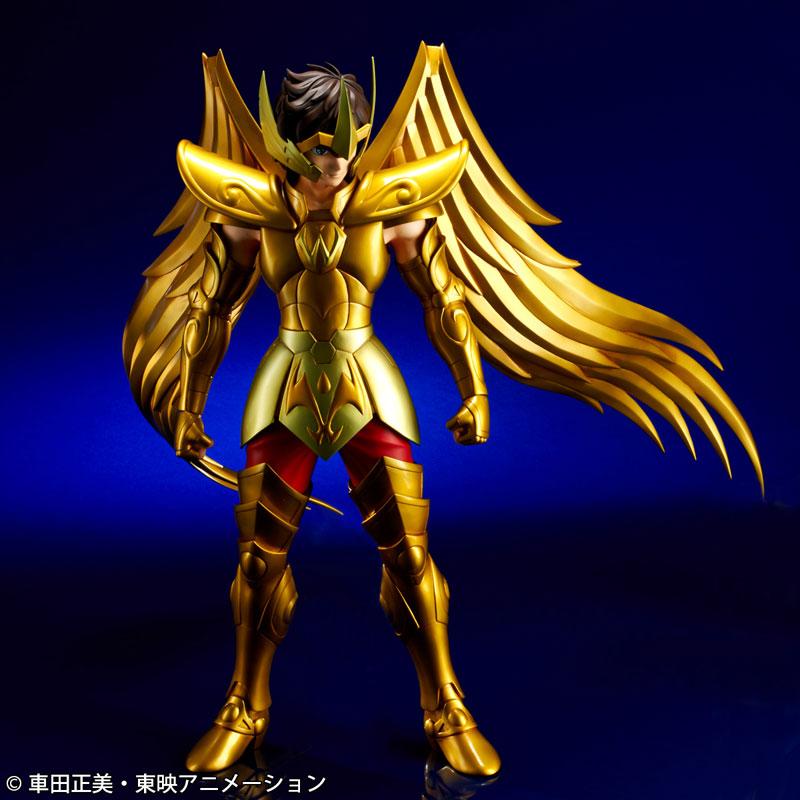 ギガンティックシリーズ 聖闘士星矢 サジタリアス アイオロス 完成品フィギュア-003