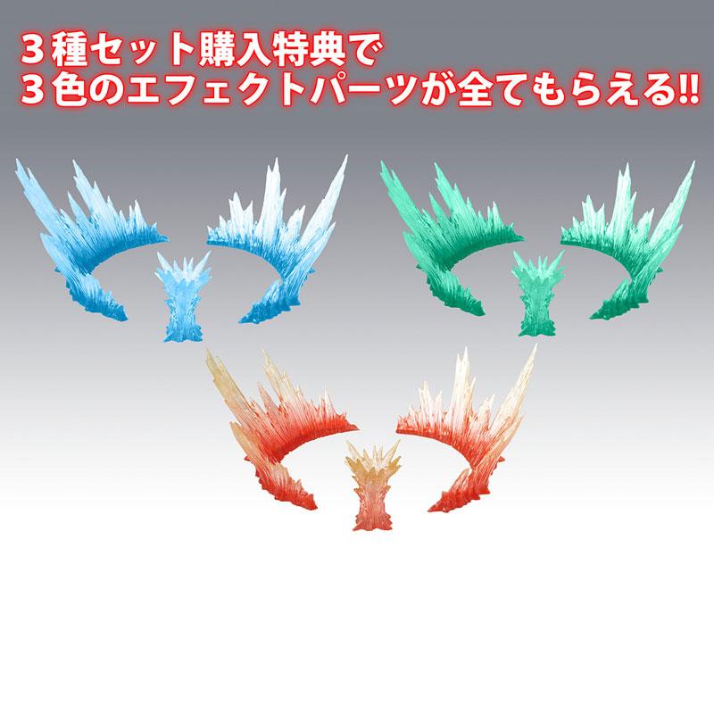 【特典】ヴァリアブルアクション「グランゾート」「アクアビート」「ウィンザート」セット Shining ver.-010