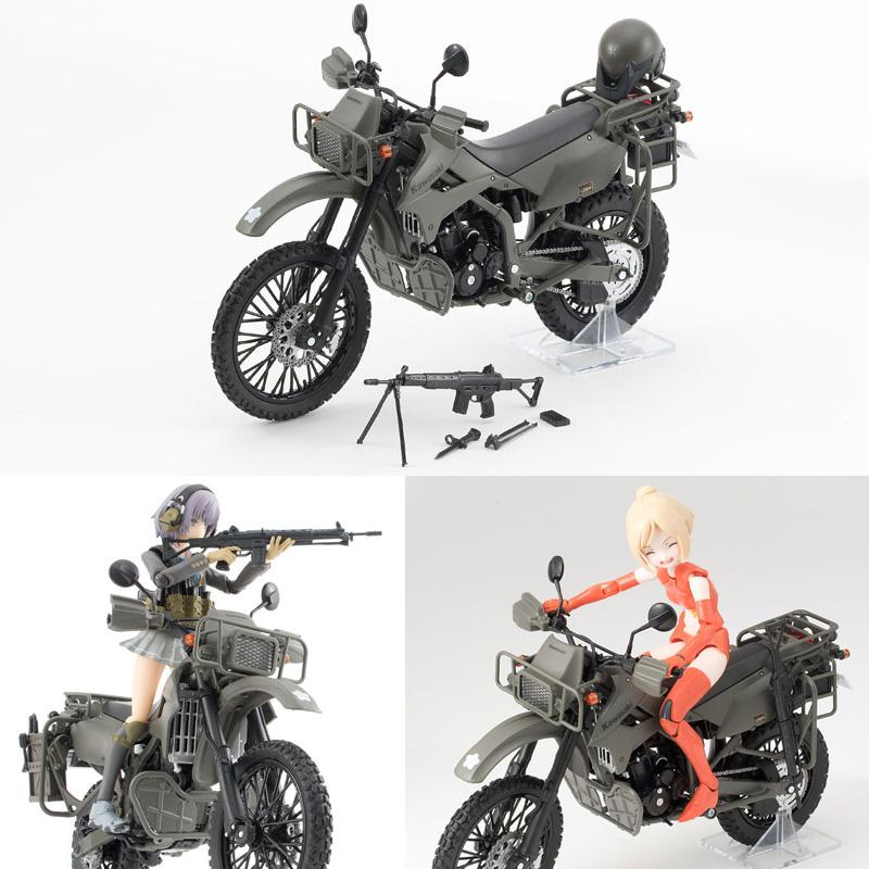 リトルアーモリー〈LM002〉陸上自衛隊偵察オートバイ DX版