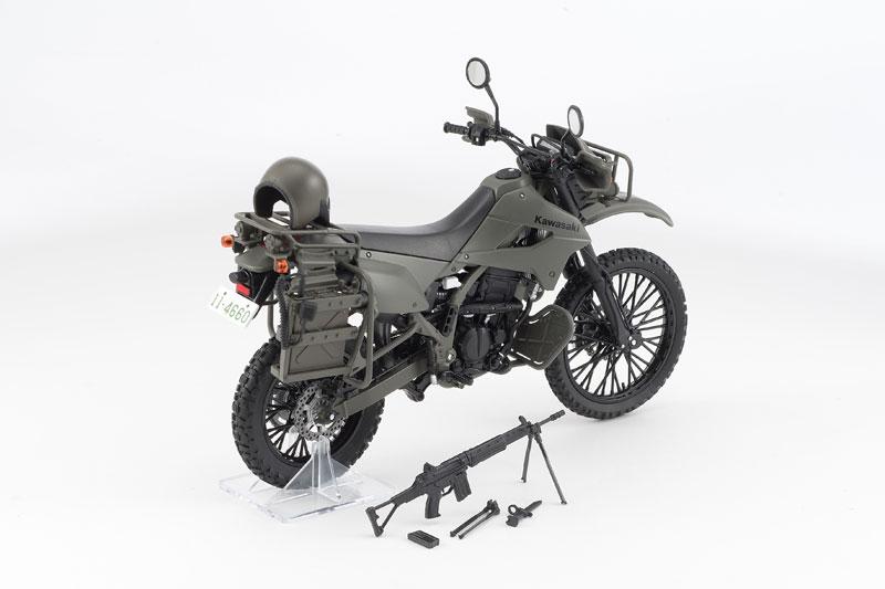 リトルアーモリー〈LM002〉陸上自衛隊偵察オートバイ DX版-002