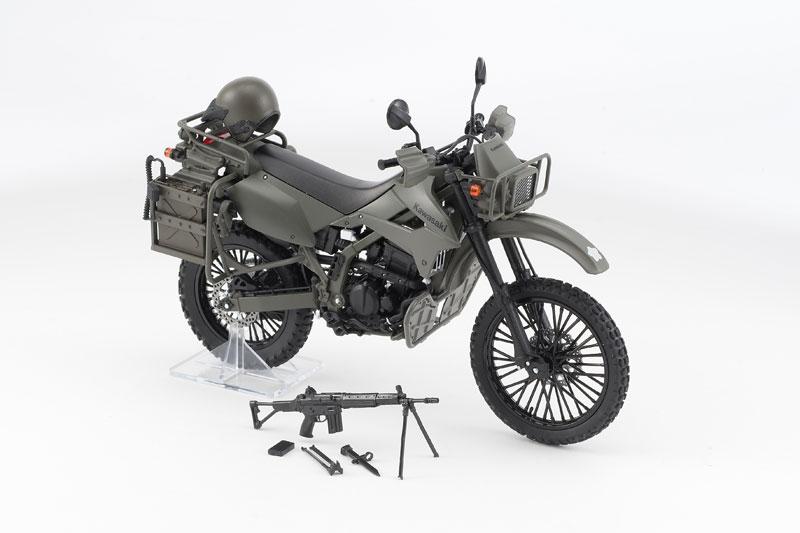 リトルアーモリー〈LM002〉陸上自衛隊偵察オートバイ DX版-003
