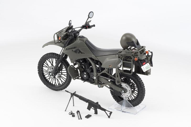 リトルアーモリー〈LM002〉陸上自衛隊偵察オートバイ DX版-004