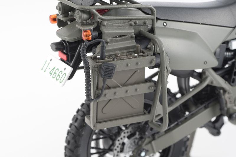 リトルアーモリー〈LM002〉陸上自衛隊偵察オートバイ DX版-006