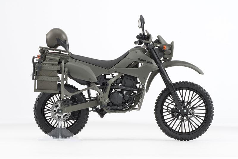 リトルアーモリー〈LM002〉陸上自衛隊偵察オートバイ DX版-009