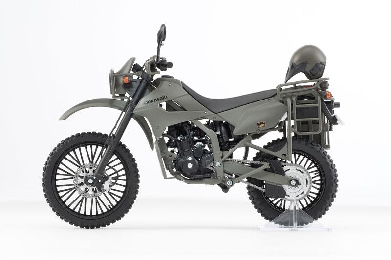 リトルアーモリー〈LM002〉陸上自衛隊偵察オートバイ DX版-010