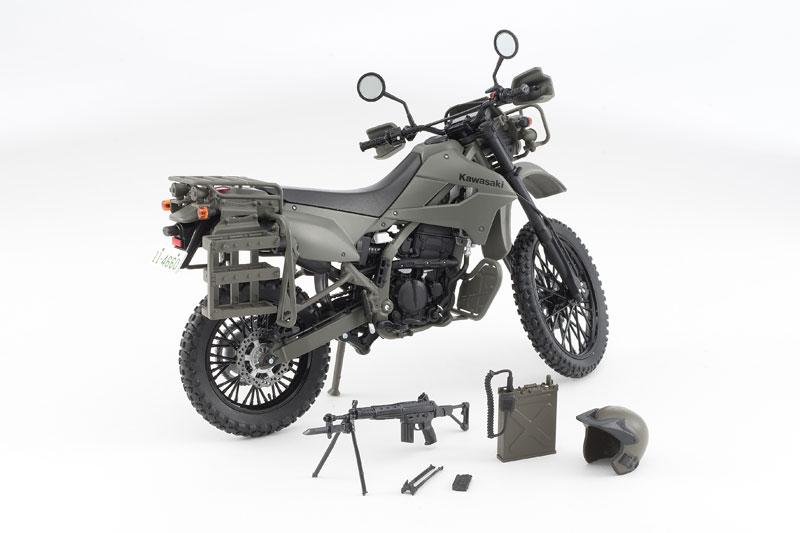 リトルアーモリー〈LM002〉陸上自衛隊偵察オートバイ DX版-011