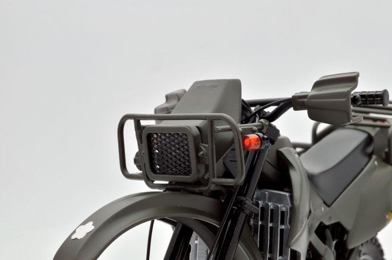 リトルアーモリー〈LM002〉陸上自衛隊偵察オートバイ DX版-013