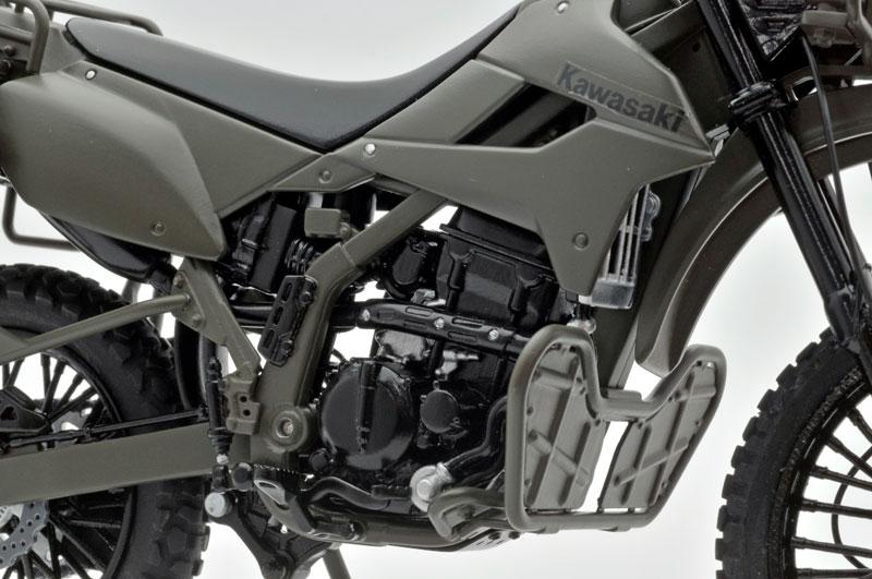 リトルアーモリー〈LM002〉陸上自衛隊偵察オートバイ DX版-014