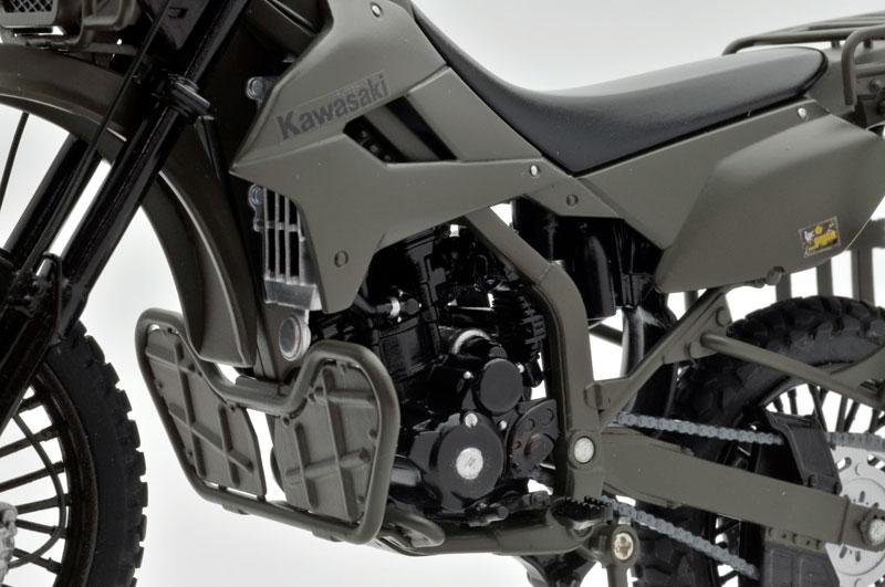 リトルアーモリー〈LM002〉陸上自衛隊偵察オートバイ DX版-015