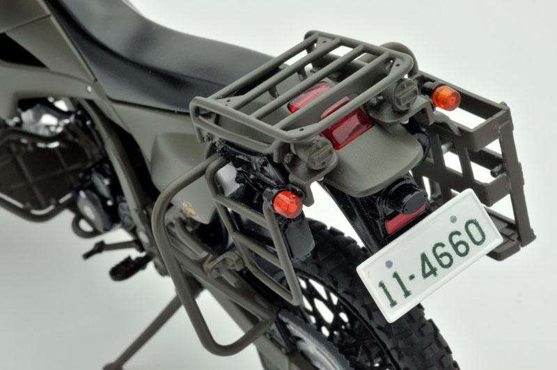 リトルアーモリー〈LM002〉陸上自衛隊偵察オートバイ DX版-016