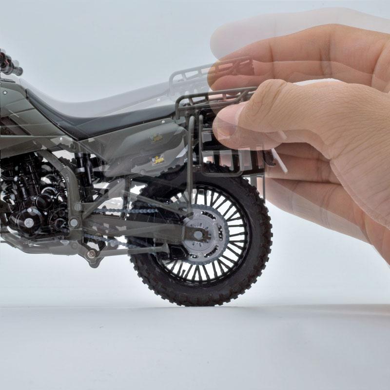 リトルアーモリー〈LM002〉陸上自衛隊偵察オートバイ DX版-018