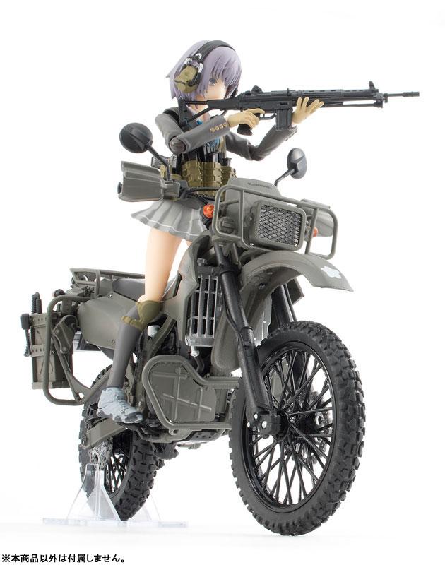 リトルアーモリー〈LM002〉陸上自衛隊偵察オートバイ DX版-019