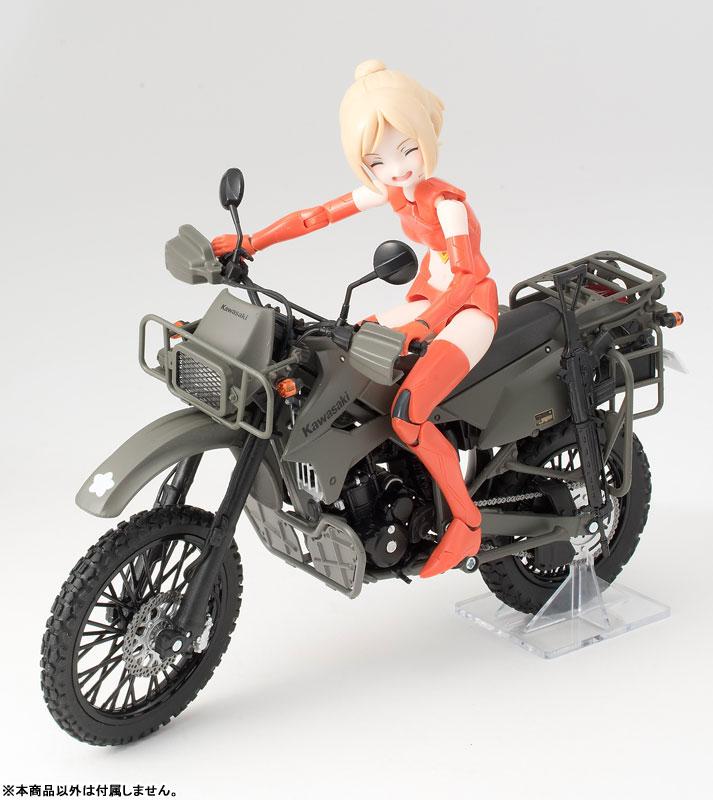 リトルアーモリー〈LM002〉陸上自衛隊偵察オートバイ DX版-020