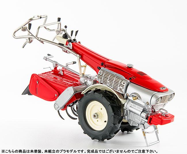 PLAMAX MF-21 minimum factory みのり with ホンダ耕耘機F90 1/20 プラモデル-006