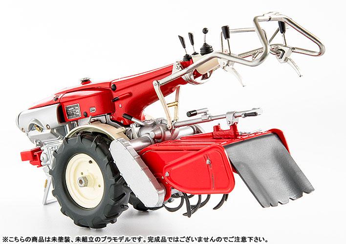 PLAMAX MF-21 minimum factory みのり with ホンダ耕耘機F90 1/20 プラモデル-007