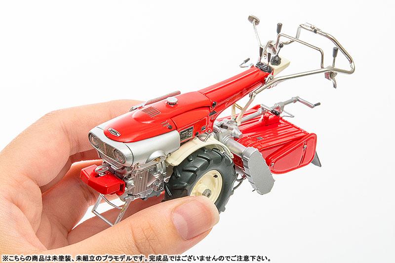 PLAMAX MF-21 minimum factory みのり with ホンダ耕耘機F90 1/20 プラモデル-015