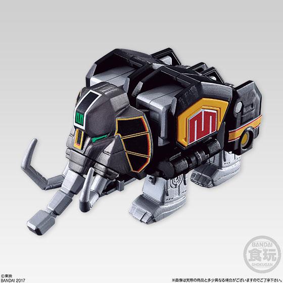 【食玩】スーパーミニプラ 進化合体 恐竜戦隊ジュウレンジャー 大獣神 5個入りBOX-002