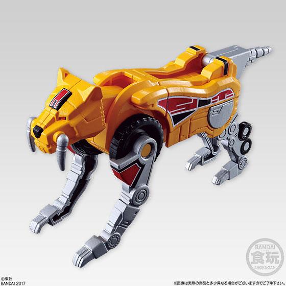 【食玩】スーパーミニプラ 進化合体 恐竜戦隊ジュウレンジャー 大獣神 5個入りBOX-004