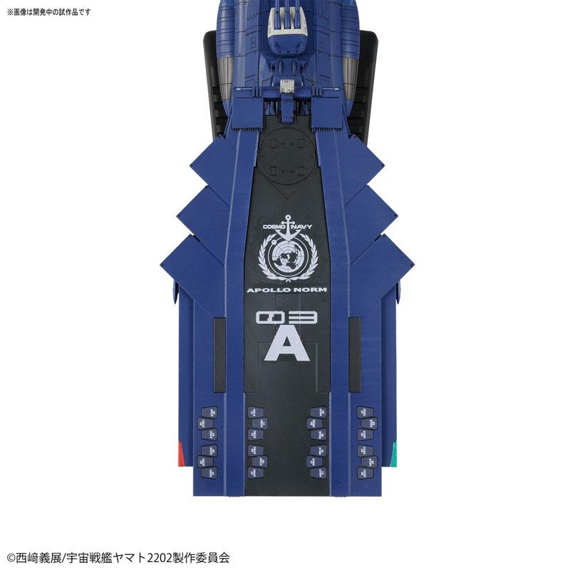 1/1000 地球連邦アンドロメダ級三番艦アポロノーム プラモデル-004