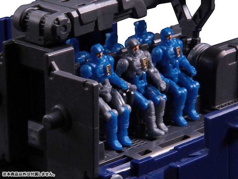 ダイアクロン DA-19 ビッグパワードGV・連結戦闘トレーラー-009