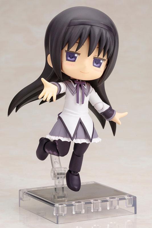 キューポッシュ 劇場版 魔法少女まどか☆マギカ 暁美ほむら ver.1.5 可動フィギュア-003