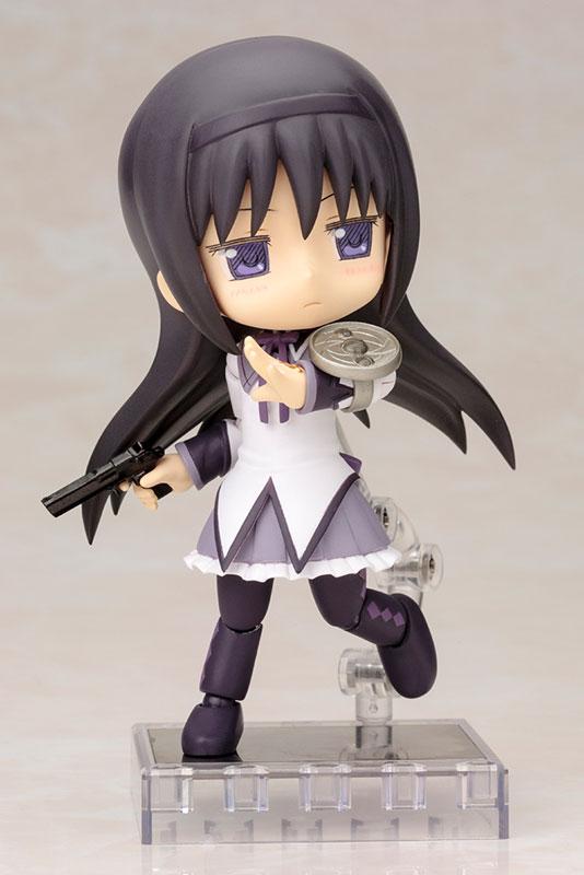 キューポッシュ 劇場版 魔法少女まどか☆マギカ 暁美ほむら ver.1.5 可動フィギュア-007