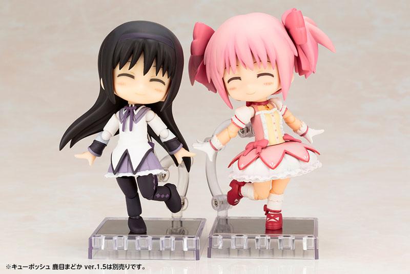 キューポッシュ 劇場版 魔法少女まどか☆マギカ 暁美ほむら ver.1.5 可動フィギュア-010
