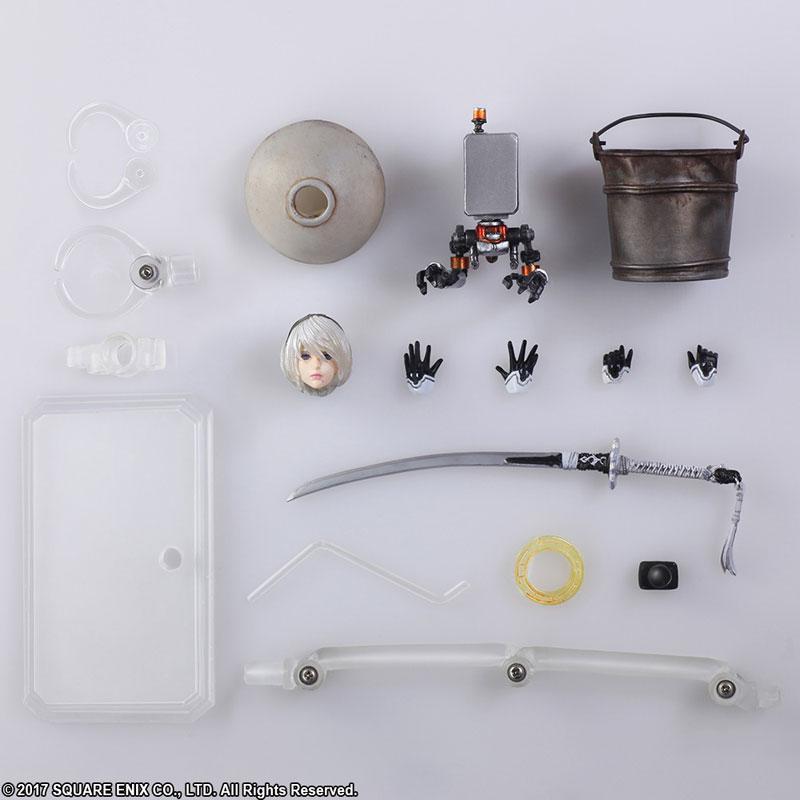 BRING ARTS NieR:Automata 2B&機械生命体(2体セット) アクションフィギュア-011