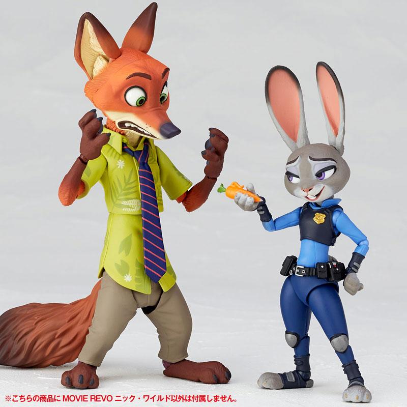 フィギュアコンプレックス MOVIE REVO Series No.010 『ズートピア』 ニック・ワイルド-014