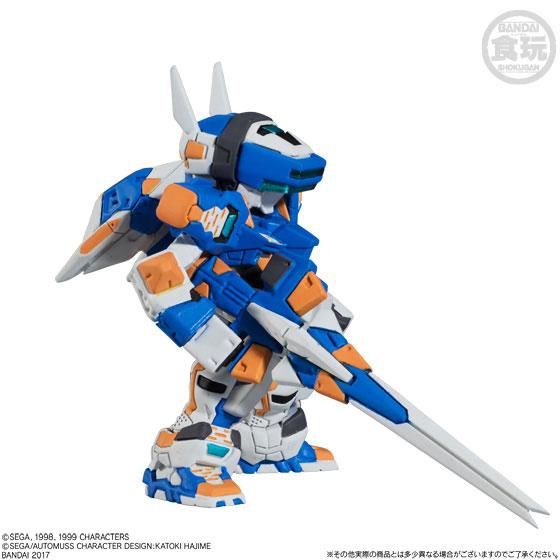 【食玩】FW CONVERGEメカニクス 電脳戦機バーチャロン テムジン-001