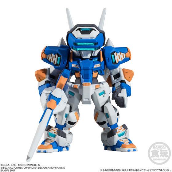 【食玩】FW CONVERGEメカニクス 電脳戦機バーチャロン テムジン-002