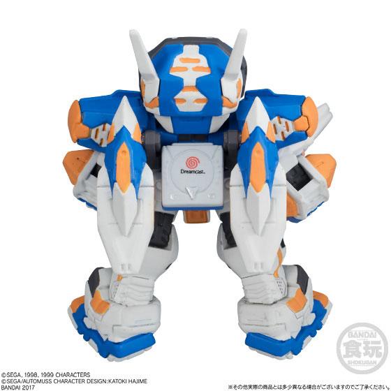 【食玩】FW CONVERGEメカニクス 電脳戦機バーチャロン テムジン-004