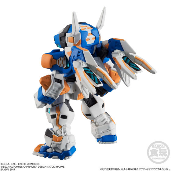 【食玩】FW CONVERGEメカニクス 電脳戦機バーチャロン テムジン-006