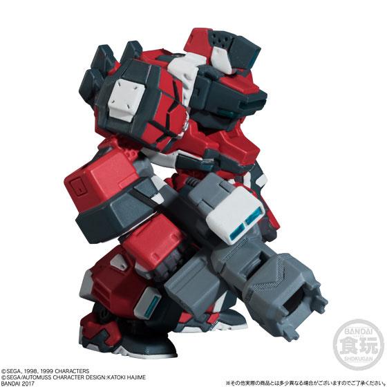 【食玩】FW CONVERGEメカニクス 電脳戦機バーチャロン ライデン-001