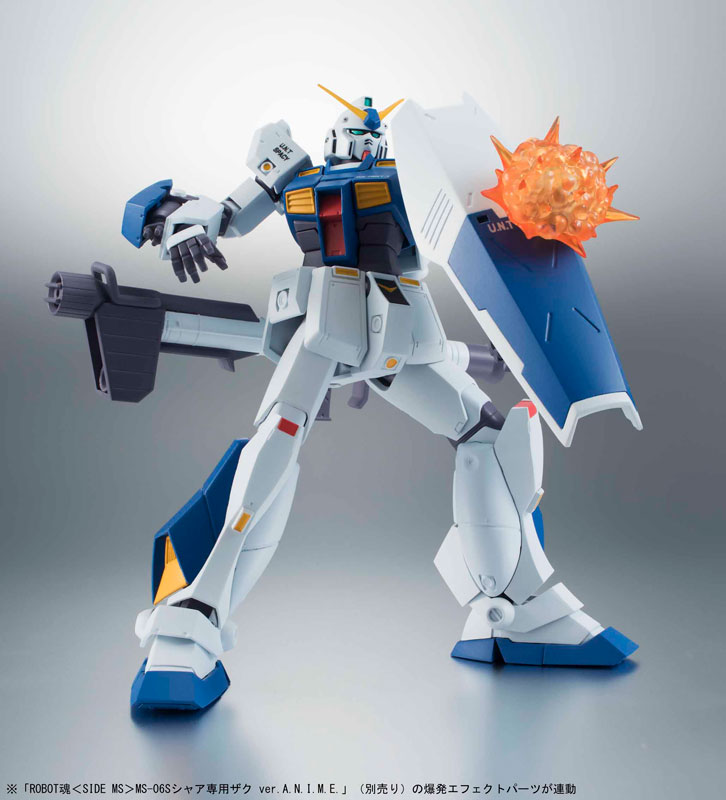 ROBOT魂 -ロボット魂-〈SIDE MS〉 RX-78NT-1 ガンダムNT-1 ver. A.N.I.M.E.-003