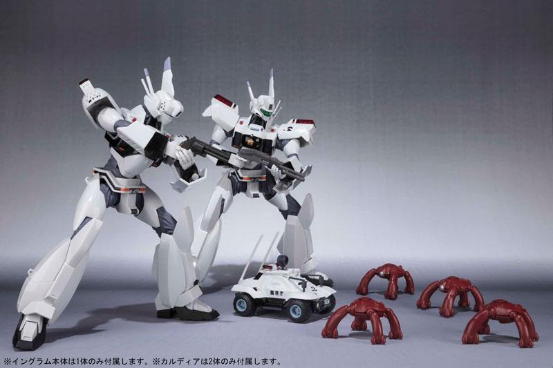 ROBOT魂 -ロボット魂- 〈SIDE LABOR〉 イングラム1号機&2号機パーツセット (PATLABOR the Movie)-015